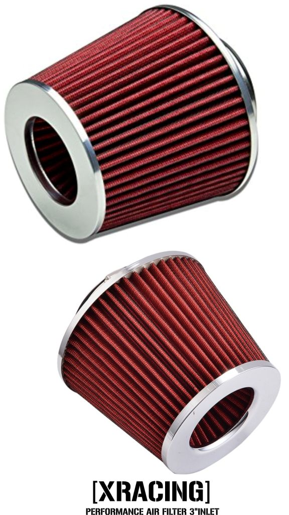 XRacing Performance Air Filter  / Pod Filter Universal fitment 3