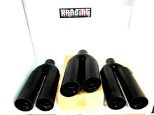 "Black Edition Drift / Vip / Boso Tail Pipes 3"" Inlet With 2 X 3.5"" Outlets"