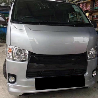 Toyota Hiace After Market Bonnet 2004 - On Words 2 Type's