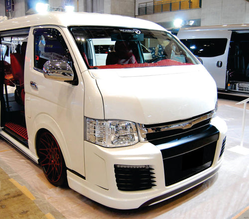 Toyota Hiace After Market Bonnet 2004 - 2018 2 Type's