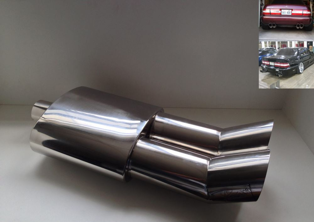 XRacing Super Vip / Drift Boss Muffler 2.5