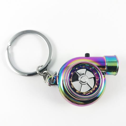 TURBO KEY RING WITH SOUND & LED LIGHT