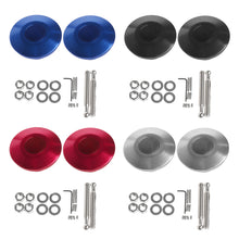 Push Button Quick Release Bonnet Pins Heavy Duty Billet  [XRACING]