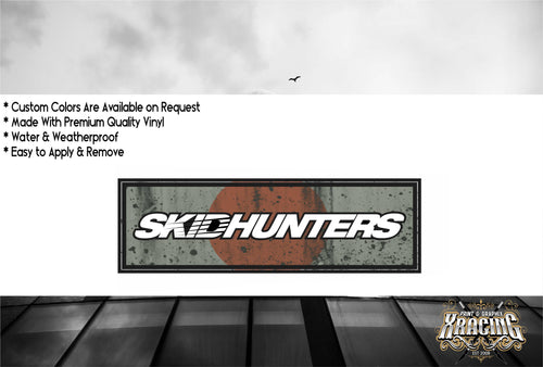 JDM SLAP SKIDHUNTERS JAPANESE JDM STICKER FUNNY CAR STICKER DECAL [XRACING] #275