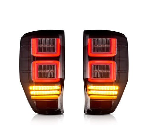 Ford Ranger Smoked Lens LED Tail lights  2012 - 2017