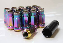 Neo Chrome Wheel Nuts *Free Shipping NZ ONLY*