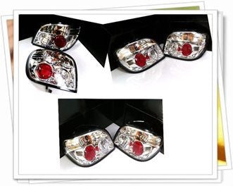 Toyota Echo / Vitz Crystal Clear Tail Lights  99+