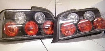 Bmw E36 Coupe 2door Jdm Black Tail Lights 1991-1998