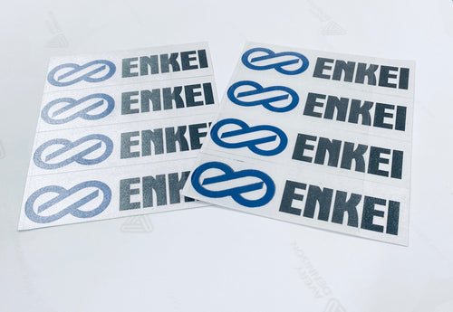 ENKEI Wheel Decal / Stickers x 4