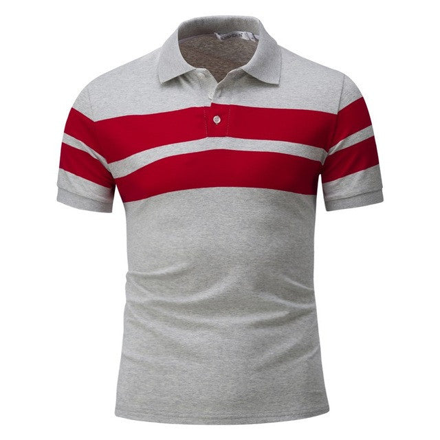 Short Sleeve T Shirts Men Striped Fashion