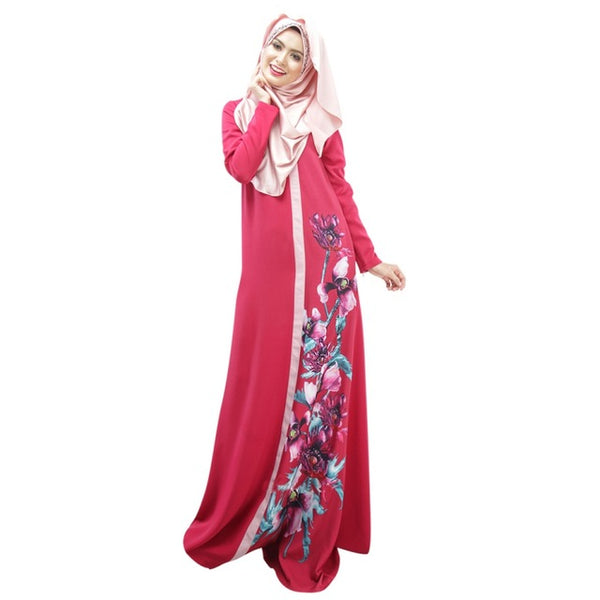 Dubai Moroccan Kaftan Dress Abaya Jilbab Islamic Arabian Clothing Dresses