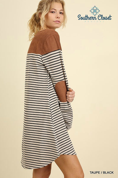 Bethany Striped Dress