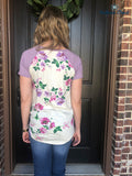 Raylin Floral Top