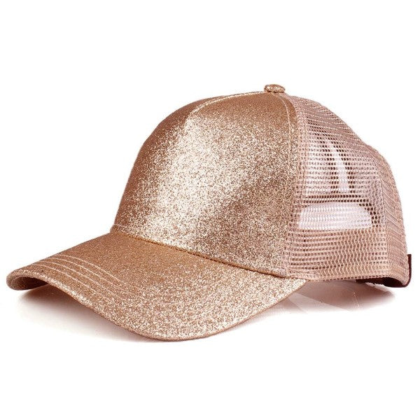 All That Sparkles Rose Gold C.C Hat
