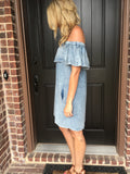 Jean Mineral Washed Dress