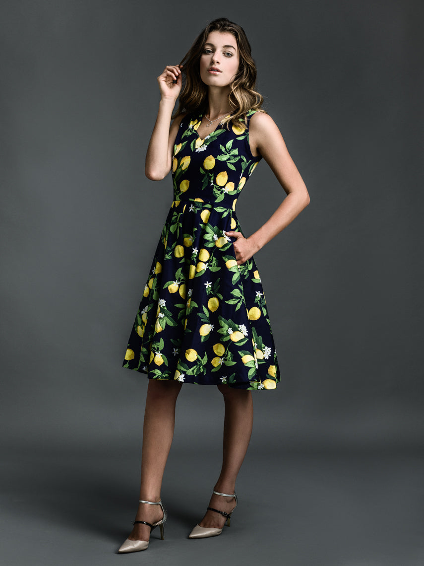 'Make Limoncello' Dress