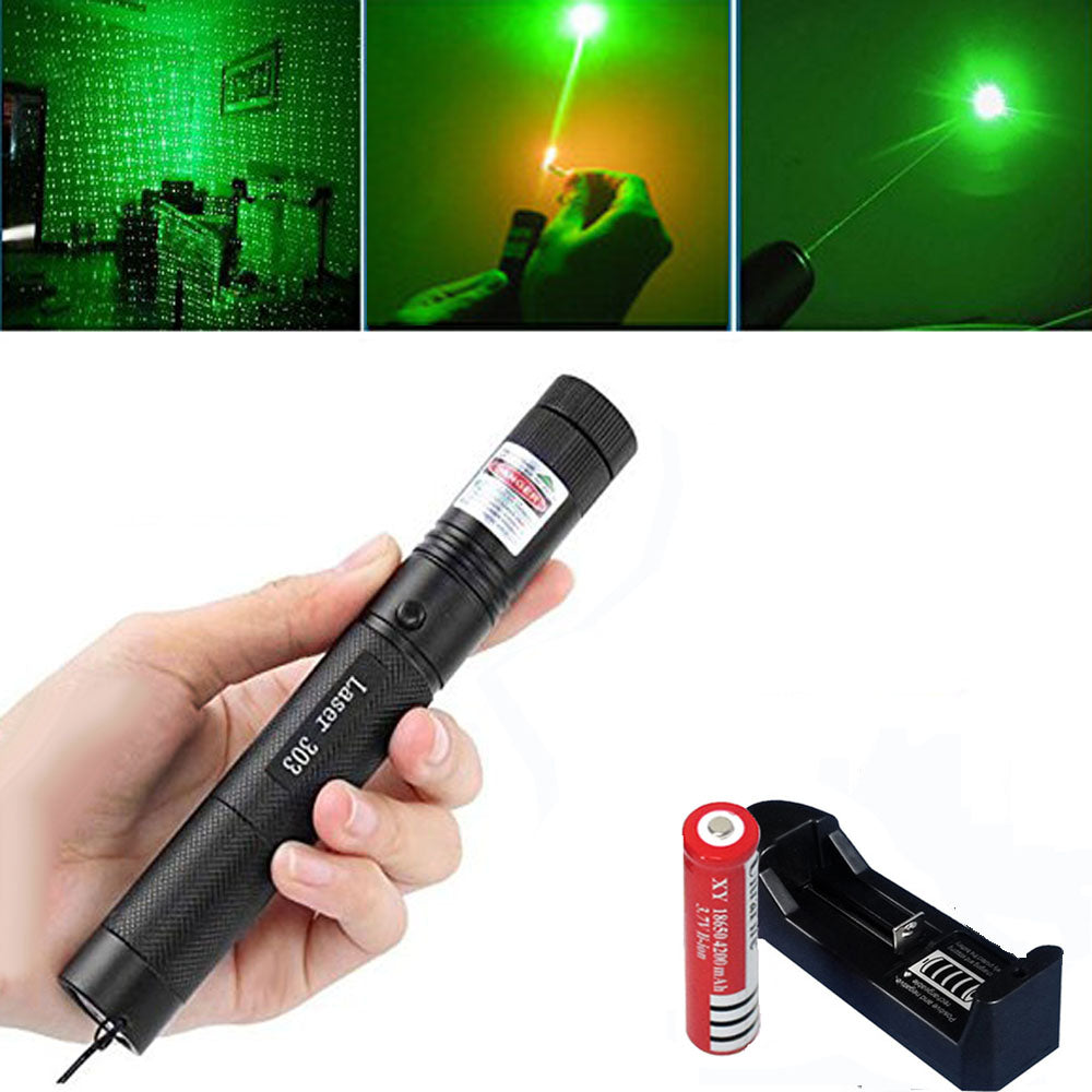 Burning Tactical Laser Pointer