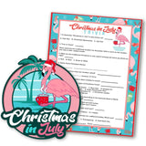 Christmas in July Special Order!