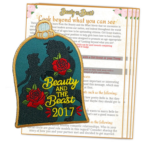 -Beauty and the Beast Patch Activity Sheet