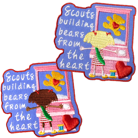 Build-A-Bear Inspired Patch - (2 options available)