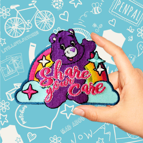 Care Bears Share Your Care Patch