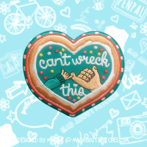 """Can't Wreck This"" Wreck It Ralph Inspired Patch"