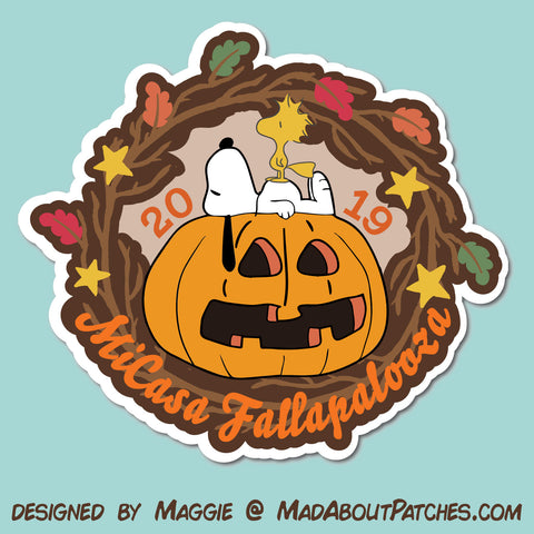 MiCasa Fallapalooza Custom Patch