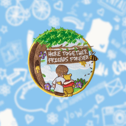 Christoper Robin Inspired Movie Patch