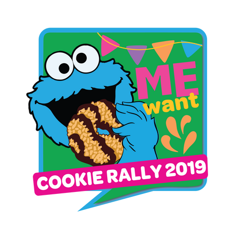 Cookie Monster Cookie Rally