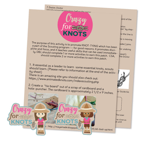 Crazy For Knots Activity Sheet