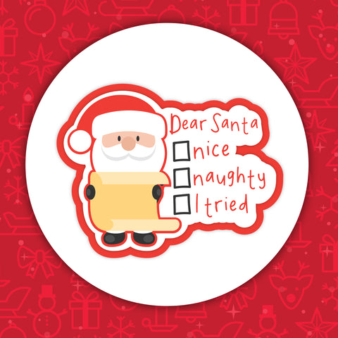 Dear Santa Color Me-In Patch
