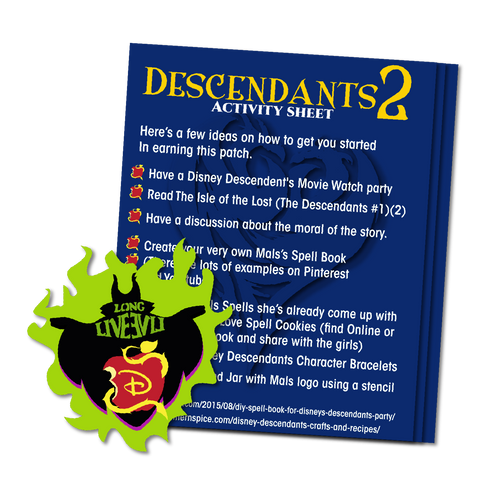 Descendants Activity Sheet