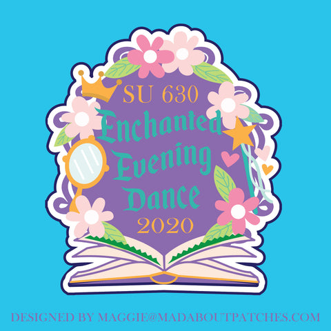 SU 630 Enchanted Evening Custom Patch