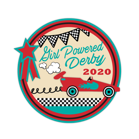 Girl Powered 2020 Derby Patch