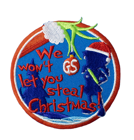 "Grinch Inspired ""We Won't Let You Steal Christmas"""