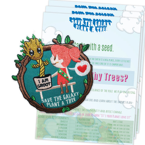 Guardians of the Galaxy Fun Patch- Groot Activity Sheet