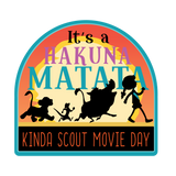 It's a Hakuna Matata kinda Scout Movie Day