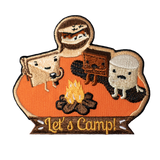 Let's Camp (Orange) Patch