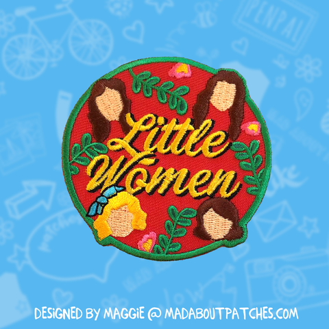 Little Women Inspired Patch