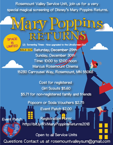 Mary Poppins Flyer