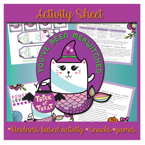 Halloween Merwitch Activity Sheet