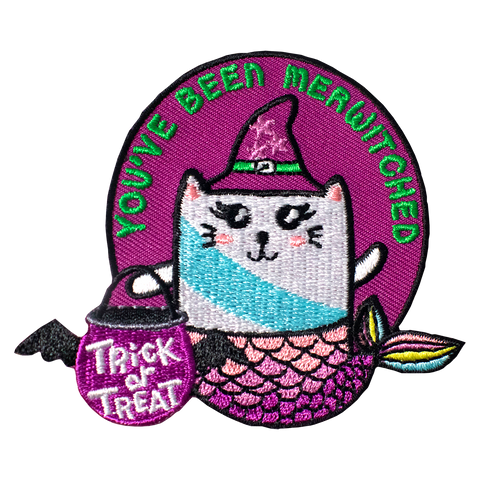 Halloween's You've Been Merwitched Pay It Forward Patch & Activity