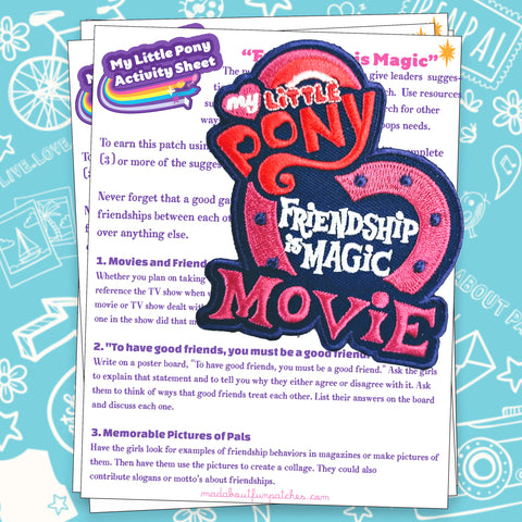 My Little Pony Activity Sheet