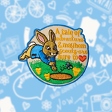 Peter Rabbit Scout inspired Patch