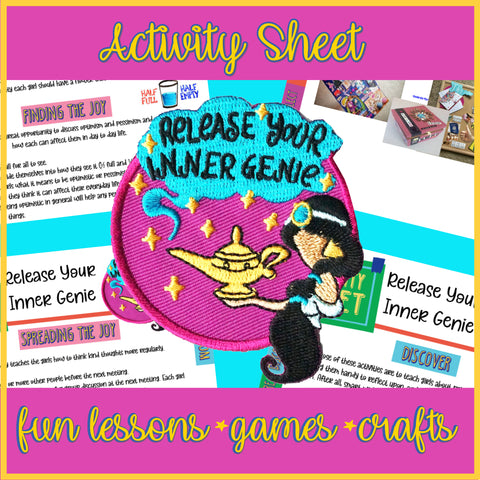 Release Your Inner Genie Activity Sheet