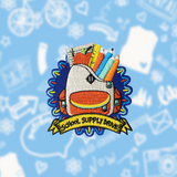 School Supply Drive Patch
