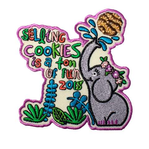 2018 Selling Cookies is a ton of Fun Patch