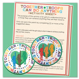 Troops Can Do Anything Together Patch            D/B/J
