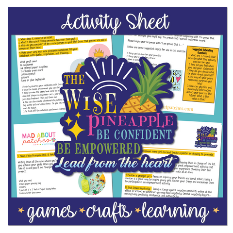 The Wise Pineapple Activity Sheet