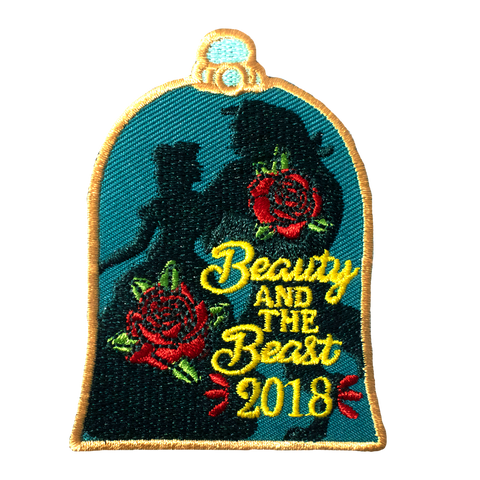 Beauty and the Beast Patch (No Year)